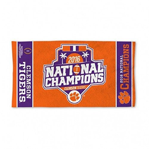 Clemson Tigers National Champions Bench Towel 22 x 42 by WinCraft