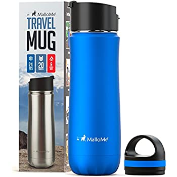 Amazon Com Mallome Stainless Steel Coffee Travel Mug 20