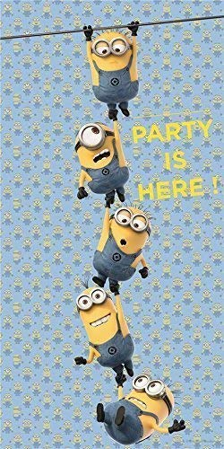 Procos Lovely Minions The Party is Here Door Poster Banner - To -