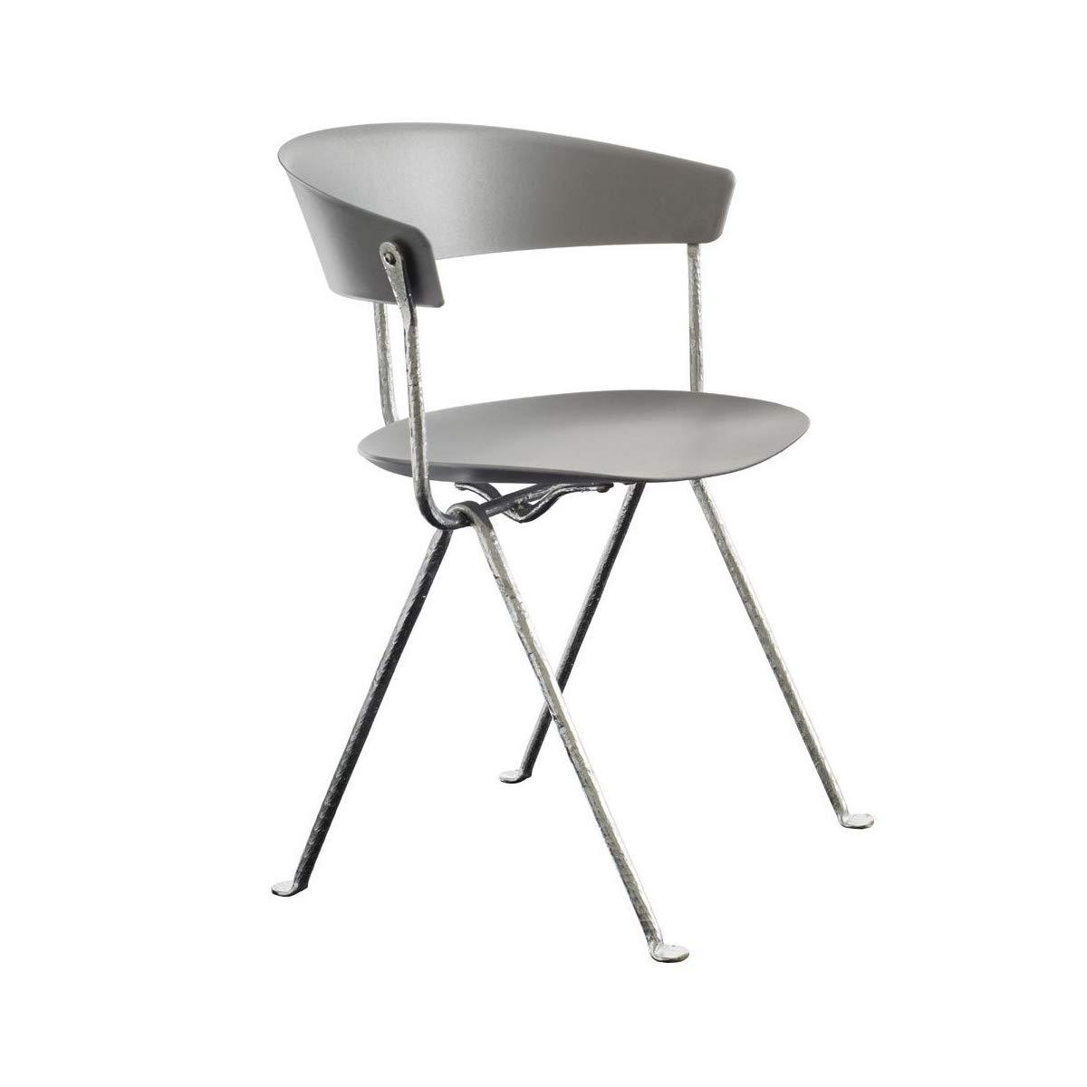 Amazon.com: Magis Officina - Silla metálica, color gris ...