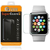 (US) [2-Pack] For Apple Watch Series 2 38 mm (2016 Release) - SuperGuardZ Tempered Glass Screen Protector, 9H, 0.3mm, 2.5D Round Edge, Anti-Scratch, Anti-Bubble, Shatterproof