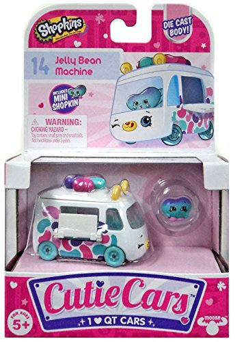 Shopkins Cutie Cars #14 Jelly Bean Machine with Mini Shopkin Exclusive