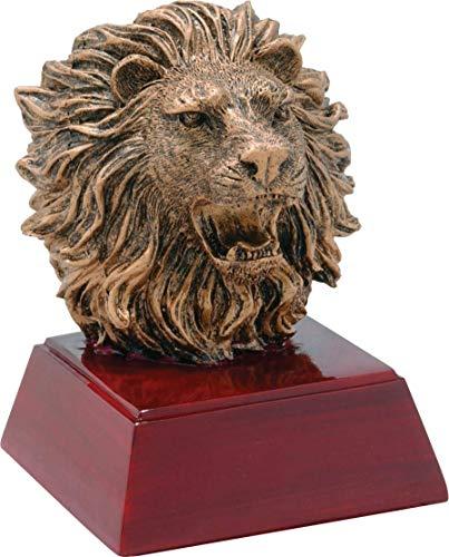 (Trophy Crunch Fierce Lion Mascot School Gift & Award - Free Custom Engraving)