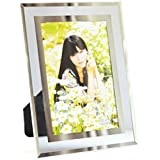 Gift Garden 4 by 6-Inch Format Frames Morden Glass Picture Frame