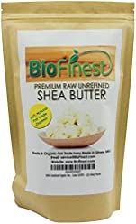 Biofinest Organic Shea Butter - 100% Pure, Raw, Unrefined - Grade A Ivory - African Ghana - Best For Dry or Ache-Prone Skin, Eczema, Stretch Marks - with E-book Recipe - 1 Lb (16 Oz)