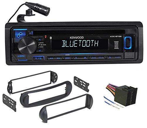 Beetle Dash Kit - Kenwood CD Receiver w/Bluetooth iPhone/Pandora For 99-10 VOLKSWAGEN VW Beetle