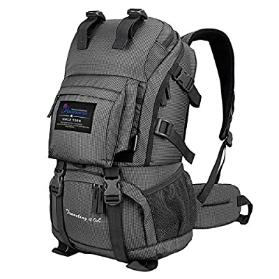 Mountaintop 40L Outdoor Hiking Backpack/Hiking Daypack/Climbing Backpack Sport Bag Camping Backpack with Rain Cover