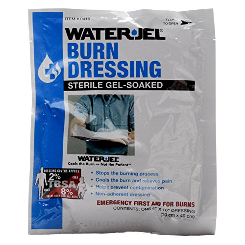 WATER-JEL - Burn Dressing - 4'' x 16'' - MS46230 (15 each) by Water Jel