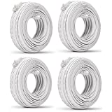 Funlux/Zmodo 3rd Gen Pack of 4 98ft sPoE NVR MicroUSB Camera Cable W-USB030-M