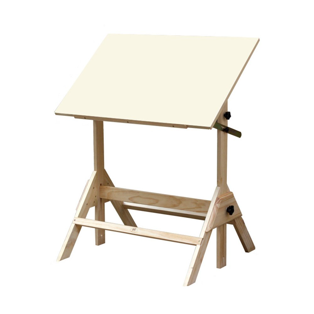 FEIFEI 学生スケッチ描画ボードラックデスクソリッドウッドテーブル B07FB3XNF5