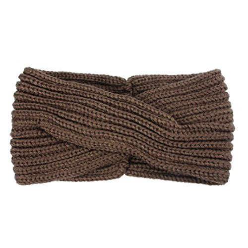 Croix Kaki Tissage Hair Bandeau Accessories Bohême Main Hairband Kolylong® Hiver Femmes xvxYqH4w
