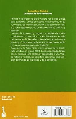La hora de los sensatos (Divulgación): Amazon.es: Leopoldo ...