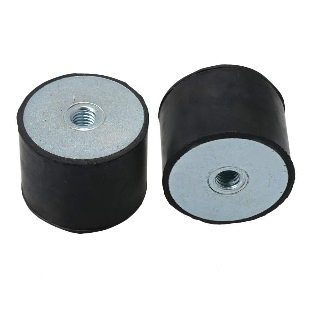 CNBTR DE M8 40 x 30 MM caoutchouc femelle anti-vibrations amortisseur bruit base plate Pack de 5
