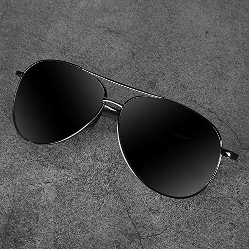 Aviator Sunglasses for Men Polarized Women -MXNX UV Protection Lightweight Driving Fishing Sports Mens Sunglasses MX208 2