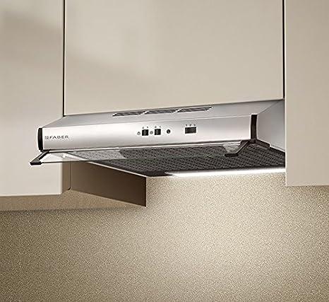 Campana extractora de cocina, 60 cm, acero inoxidable 2740 SRM X A60 (VIS): Amazon.es: Grandes electrodomésticos