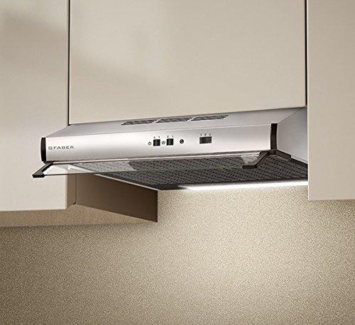 Faber - Campana para debajo de armario, 2740X, acabado acero inoxidable, de 90 cm: Amazon.es: Hogar