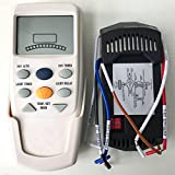 HIYILL Universal Thermostatic Ceiling Fan and Light Remote Control Conversion Kit