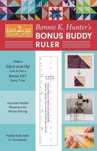 [FREE] fast2cut Bonnie K. Hunter's Bonus Buddy Ruler<br />[T.X.T]