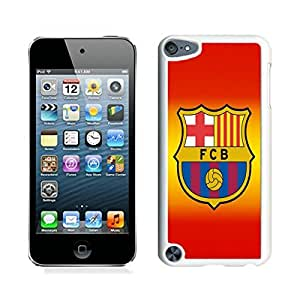 Special Custom iPod Touch 5 Case Barcelona 4 White Personalized Picture iPod Touch 5 Phone Case
