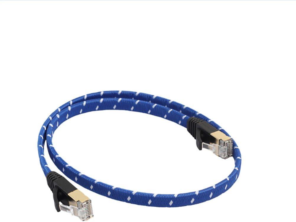 Ledmomo Lan Kabel 10 Gigabit Cat 7 Ethernet Kabel Nylon Geflochtene 3 3ft Rj45 Anschlüsse Für