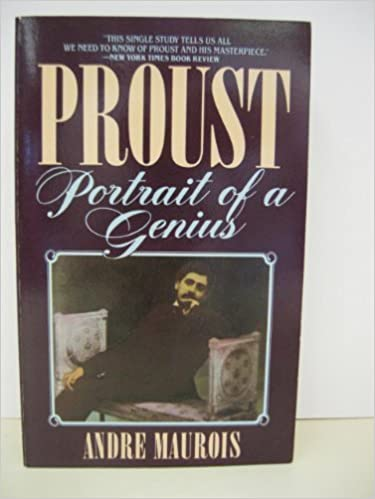 Book Proust: Portrait of a Genius by Andre Maurois (1984-09-03)