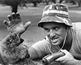 #5: Bill Murray in Caddyshack on golf course facing the gopher! 16x20 Poster