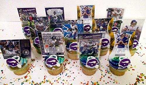 Adrian Cup (MINNESOTA VIKINGS 24 Piece Birthday Cupcake Party Favor Set)