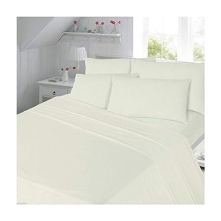 Juego de sábanas de franela, 100 % algodón, incluye 1 sábana ...
