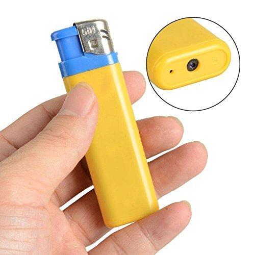 Hossen Lighter Spy DVR Hidden Camera Cam Camcorder Video Photo Recorder USB Mini DV (Dvr Spy Lighter)