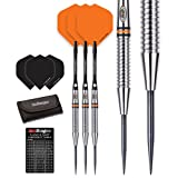 Red Dragon Amberjack 17: 24g - 90% Tungsten Steel Darts with Flights, Shafts, Wallet & Red Dragon Checkout Card