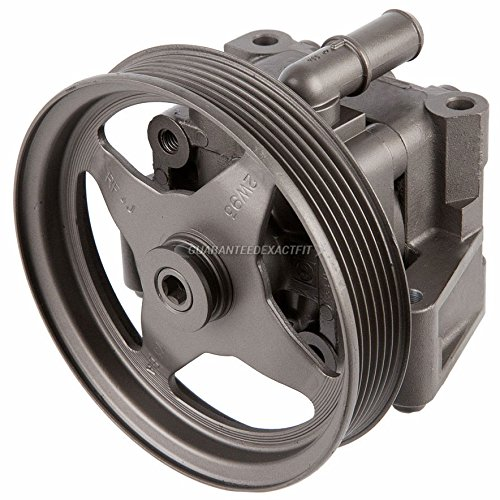 Remanufactured Power Steering Pump For Jaguar X-Type 2002-2008 - BuyAutoParts 86-01344R Remanufactured by BuyAutoParts