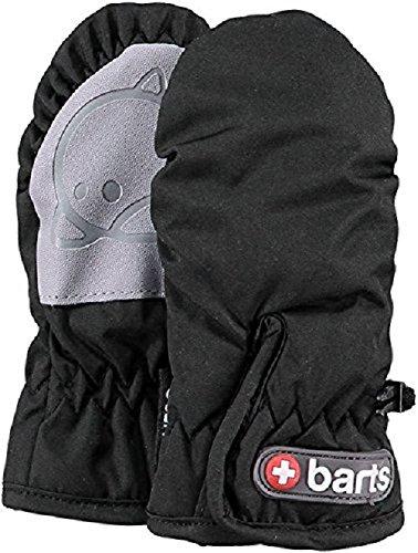 Barts Jungen Handschuhe Schwarz (Schwarz) 2