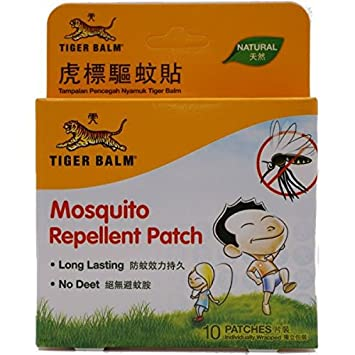 Amazoncom Tiger Balm Mosquito Repellent Patch 10 Patches Health