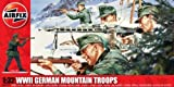Airfix A04713 WWII German Mountain Troops 1:32 Scale Series 4 Plastic Figures by Airfix