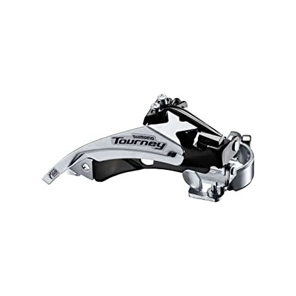 81d83017bc8 Image Unavailable. Image not available for. Color: Shimano Tourney Mountain Bicycle  Front Derailleur ...