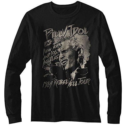 Idol Classics a Billy Blondie maniche da uomo Maglietta lunghe American Pp7gWqx