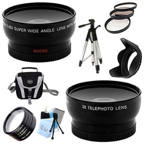 SaveOn Professional HD Wide Angle and Telephoto Lens w/Adapt