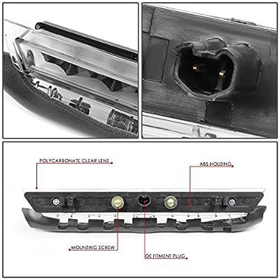 DNA MOTORING 3BL-STC11-LED-BK Full LED Third Brake Light Black [for 11-16 Scion tC]: Automotive