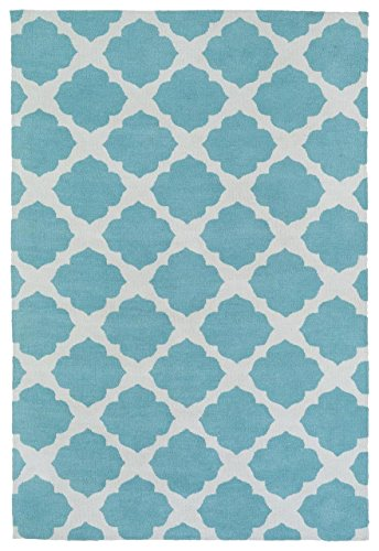 Kaleen Rugs Lily & Liam Collection LAL01-78 Turquoise Machine Tufted Rug, 2