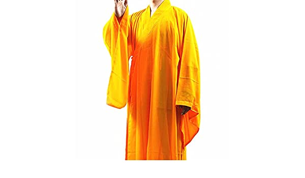 Shaolin Kung Fu monje budista meditación Túnica Largo ...
