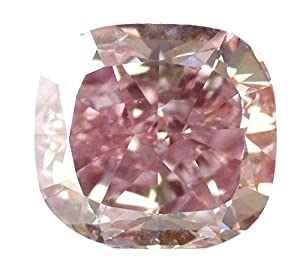5.09 CT Loose Natural Diamond Fancy Intense Pink natural VS2 Cushion Brilliant Cut GIA Certified