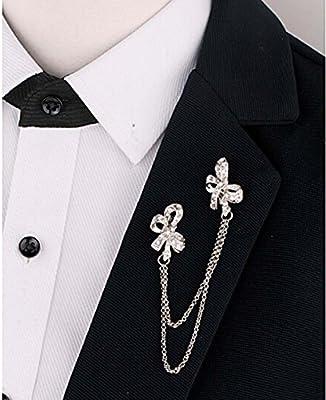 Exquisito Rhinestone Bowknot Traje Camisa Suéter Cuello ...
