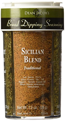 Dean Jacobs Bread Dipping Seasonings, Large, 4.0-Ounce (4 Spice Variety Pack) 2 Pack