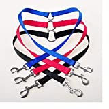 Leash Training - 200pcs Qualified Strong Nylon Pet Double Leash Twin Dog Multicolor Lead Walk Two Dogs Wa1878 - Collar Color Puppies Pulls For Book That Harness Your Puppy