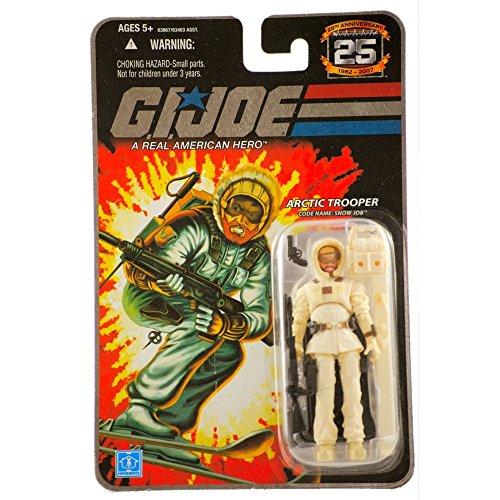 "G.I. JOE Hasbro 25th Anniversary 3 3/4"" Wave 5 Action Figure Snow Job"