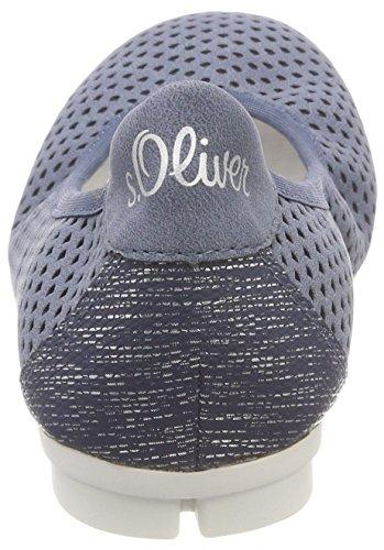 Comb Oliver Blue Mujer para 22103 Azul s Bailarinas v0qZqw