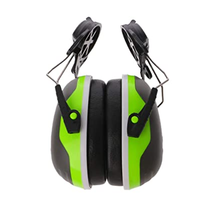 guoyy audífono de Seguridad 33 db Defender Ear Muff Protector Auditivo Ferroviario de Casco de Trabajo