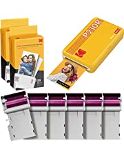 KODAK Mini 2 Retro Portable Instant Photo Printer, Wireless Connection, Compatible: iOS, Android & Bluetooth, Real Photo (2.1 x3.4), 4Pass & Lamination Process, Premium Quality Yellow 60 Sheets