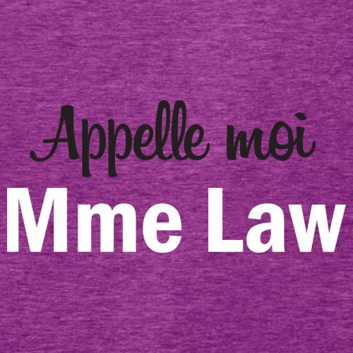 Apelle Moi Madame Law - Femme T-Shirt - Violet - M