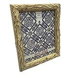 Sheffield Home 8 by 10 Vine Driftwood Design Resin